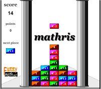 Jogos de tabuada - Tabuada Tetris