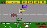 Jogos de tabuada - Tabuada Fórmula 1