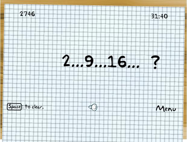 Jogos de sequências numéricas