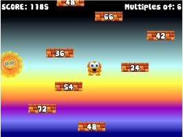 Jogos de matemática - Números múltiplos e divisores