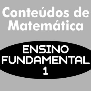 Conteúdos de Matematica - Ensino Fundamental 1