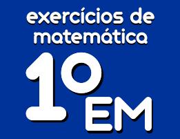 exercicios de matematica ensino medio 1