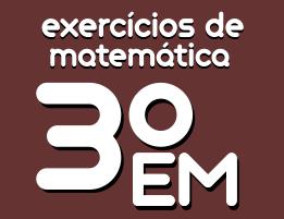 exercicios de matematica ensino medio 3