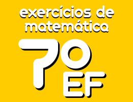 exercicios de matematica ensino fundamental 7