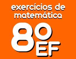 exercicios de matematica ensino fundamental 8