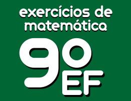 exercicios de matematica ensino fundamental 9