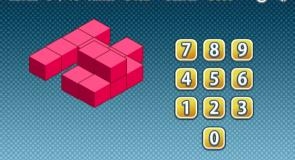 Jogos de matemática - Contar Cubos - Geometria Espacial