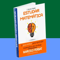 ebook gratis 7 dicas para estudar matematica