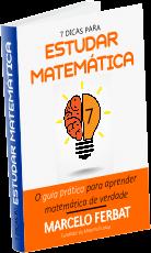 ebook 7 dicas para estudar matematica