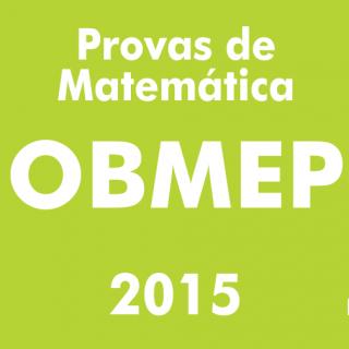 Provas de Matematica OBMEP 2015 - Nivel 3
