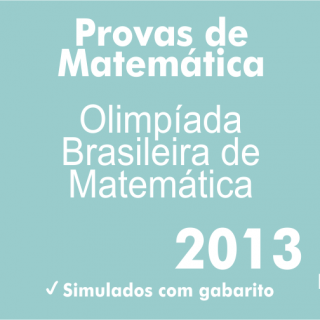 Provas de Matematica OBM 2013 - Nivel 1