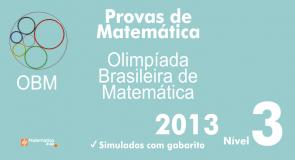Provas de Matematica OBM 2013 - Nivel 3