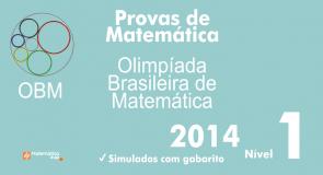 Provas de Matematica OBM 2014 - Nivel 1