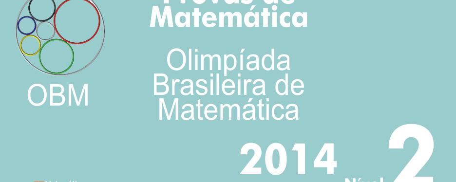 Provas de Matematica OBM 2014 – Nivel 2