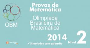 Provas de Matematica OBM 2014 - Nivel 2