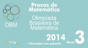 Provas de Matematica OBM 2014 - Nivel 3