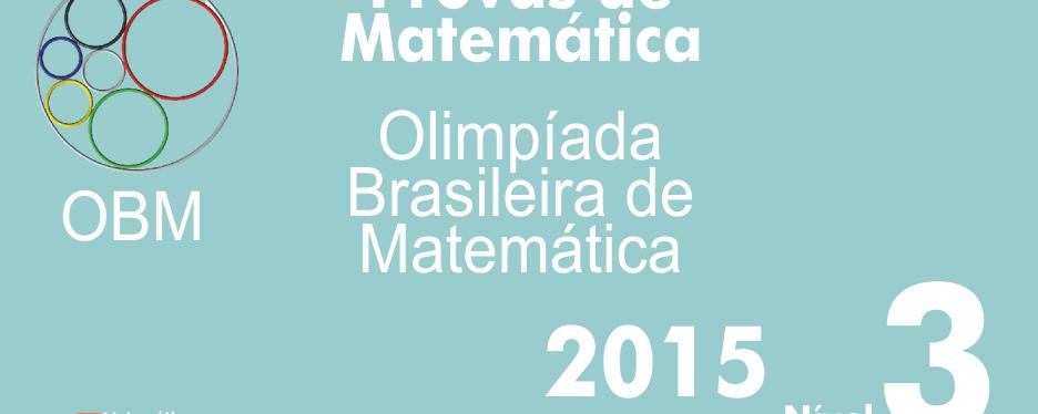 Provas de Matematica OBM 2015 – Nivel 3