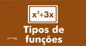 Tipos de funções