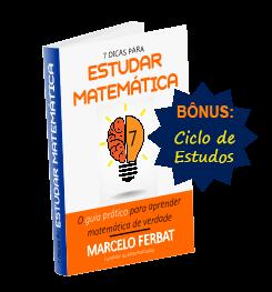 ebook 7 dicas para estudar matemática
