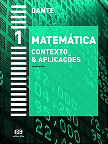 Livros didáticos de Matemática 1º ano Ensino Médio 3
