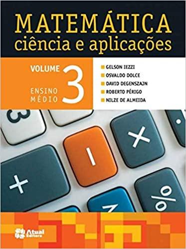 Livros didáticos de Matemática 3º ano Ensino Médio 1