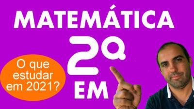 Matemática 2ª série Ensino Médio 3