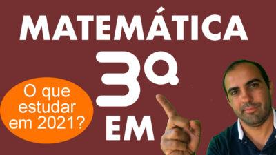 Matemática 3ª série Ensino Médio 3