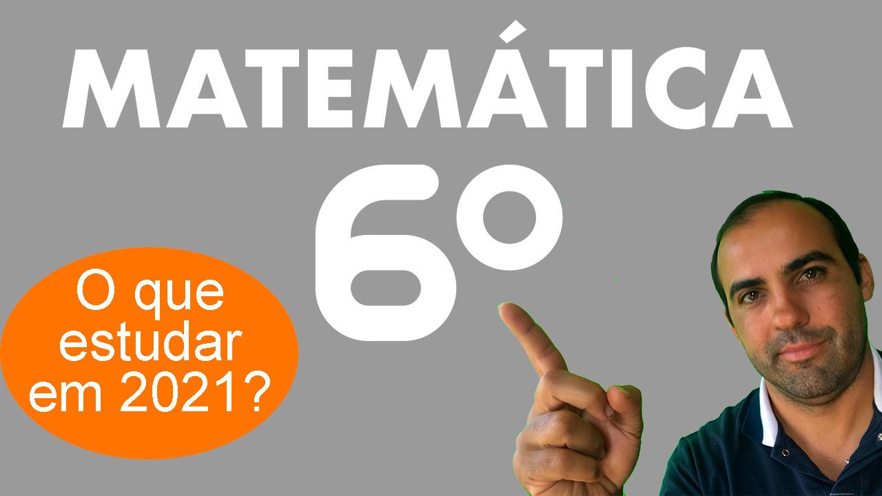 Matemática 6º ano 1