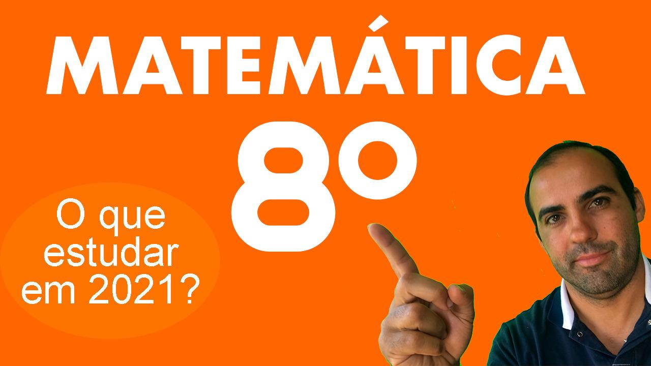 Matemática 8º ano 1
