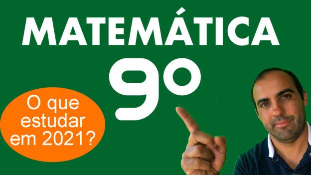 Matemática 9º ano 1