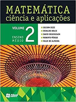Livros didáticos de Matemática 2º ano Ensino Médio 1
