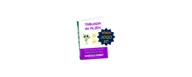 eBook Tabuada do Alien + Jogo 3D 1